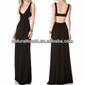 Mode femme sexy backless robe maxi( ntf03067)