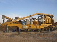 DLD1-3057 asphalt crusher plant mobile crusher machine used for coal mining stone mobile crusher manufacturer