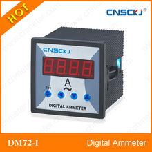 DM72-I Single phase programmable digital ampere meter