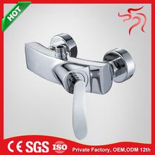 Polished Polish chrome single lever faucet shower attachment D420