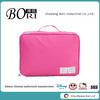 Fashion nylon travel cosmetic bags women clothes storage bags zipper