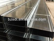 South America galvanized metal steel stud