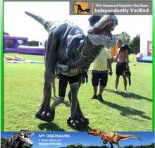 My Dino-Handmade animatronic dinosaur costume for carnival suit