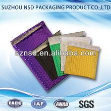 Various colors anti static decorative bubble mailers