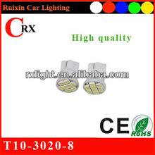 12V t10 led lamp 3020 8 smd