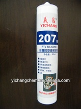 industrial use 207 silicone flange sealant