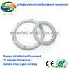 isolated driver 18w 299*30mm g10q led circular ring tube light