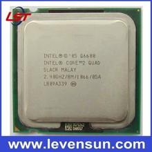 Desktop Intel cpu Q6600 SLACR/SL9UM 2.4GHz 8MB Core 2 Quad cpu processor Q6600 brand New & pull clean
