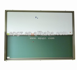 sliding Magnet whiteboard and green board for student classroom