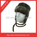 Foderato di pelliccia inverno da sci caldo cappello padiglione auricolare cappello russo vendita calda più venduto vento e impermeabile aviatore cappello di pelliccia di coniglio russo cappello,