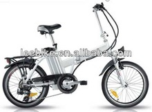 Best selling 20inch Lady electric bike/bicycle with lithium battery