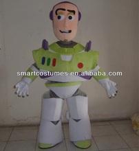 buzz lightyear traje de la mascota de adultos de buzz lightyear disfraces
