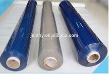 White and Blue Super Transparent PVC Film in rolls
