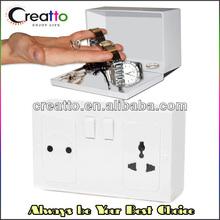 Hidden Wall Outlet Safe Home Security Plug Socket Safe Storage Box