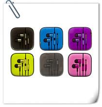 2014 NEW product Xiaomi earphone Piston in ear earphone with remote control