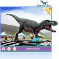 Fibra de vidro decoração de natal--- estátua de dinossauro