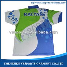 color combination polo shirt