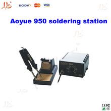 110V/220v hakko soldering station Aoyue 950 SMD Hot Tweezer Repair rework station