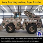 tube trencher machine,industrial/army use,for big project