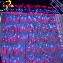 Hotel decoration stage decoration curtain lighting led