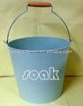 nova água balde baldes de metal colorido balde do metal