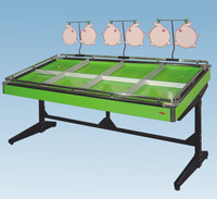 high quality competitive price light duty single-side supermarket vegetable stand shelf