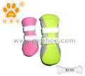 S/m/l/xl 4 pcs dog puppy pet soft malha sapatos botas de encerramento velcro tênis esportivo