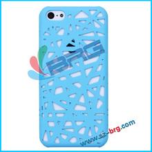 BRG-Factory price blue bird nest plastic case for iphone 5c,slim hard pc case for iphone 5c