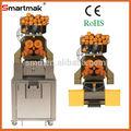 Fabricante de laranja elétrico extrator de suco, espremedor de laranja comercial máquina, automático espremedor de laranja com ce, etl, rohs