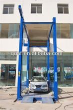hydraulic floor lift famous brand 4 post floor to floor lift
