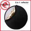 "Camera collapsible reflector 5 in 1,110cm 43"" 5-in-1 Camera Light studio reflectors"