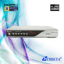 Digital High Definition DVB-C Cable Receiver TV Set Top Box
