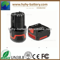 Electric tool BOSCH 18650 lithium battery electric tools lithium ion battery 18V 3000mah