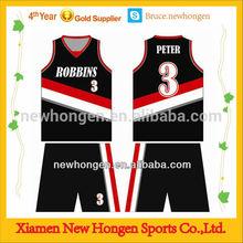 custom basketball uniform design with free logo and color