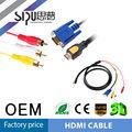 Sipu High Speed HDMI hdtv-auf-vga hd15 y/Pb/Pr 3 cinch-adapter kabel