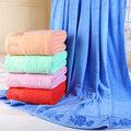 china سعر المصنع بطانية من القطن