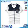 plain v neck design cheap polos t shirts men