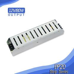 12v 80w LED power supply mini power supply