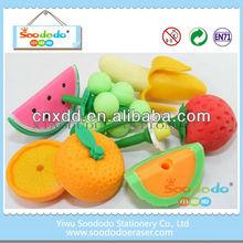 Fancy Wholesale Fruit and Vegetable Eraser