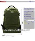 plain green backpack school backpack bag