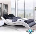 2014 popular de lujo de diseño moderno de la cama suave mueblesdeldormitorio