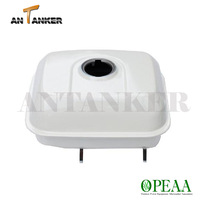 GX160 fuel tank / Small Engine Replacement Parts 17510-ZE1-020ZA White 6.5hp 4 cycle engine GX160 Fuel Tank