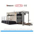 YC1520 Semi automatic creasing and die cutting machine for corrugated box