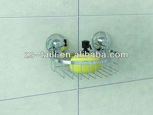 Bathroom suction cup hook Semi-circle rack