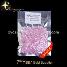Pink Diamonds 3.5mm Cubic Zirconia Rough Diamond CZ