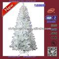 melhor design decorativo branco pet de pinheiro a árvore de natal novo produto