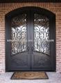 hierro puertas de entrada principal de diseño de la parrilla