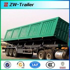 Durable tri axles side dump semi trailer (tipper truck trailer)