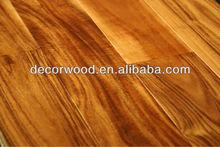 High quality Royal hardwood short leaf acacia flooring