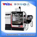 Pequena máquina cnc centro xh7125, mini centro de usinagem vertical, mini fresadora cnc